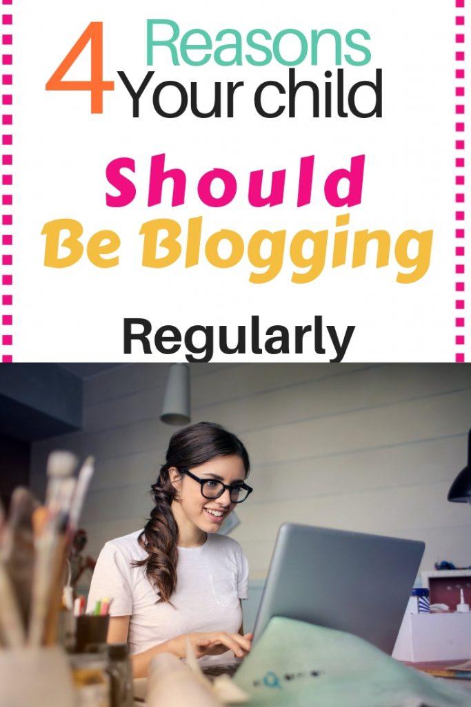 Children blogging