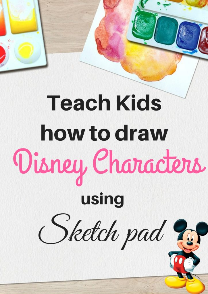 Draw disney characters