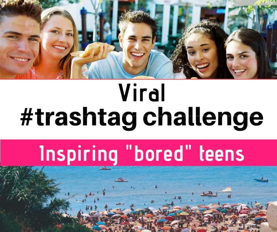 "Viral News Today Home: Viral #trashtag Social Media Challenge Inspiring ""bored"