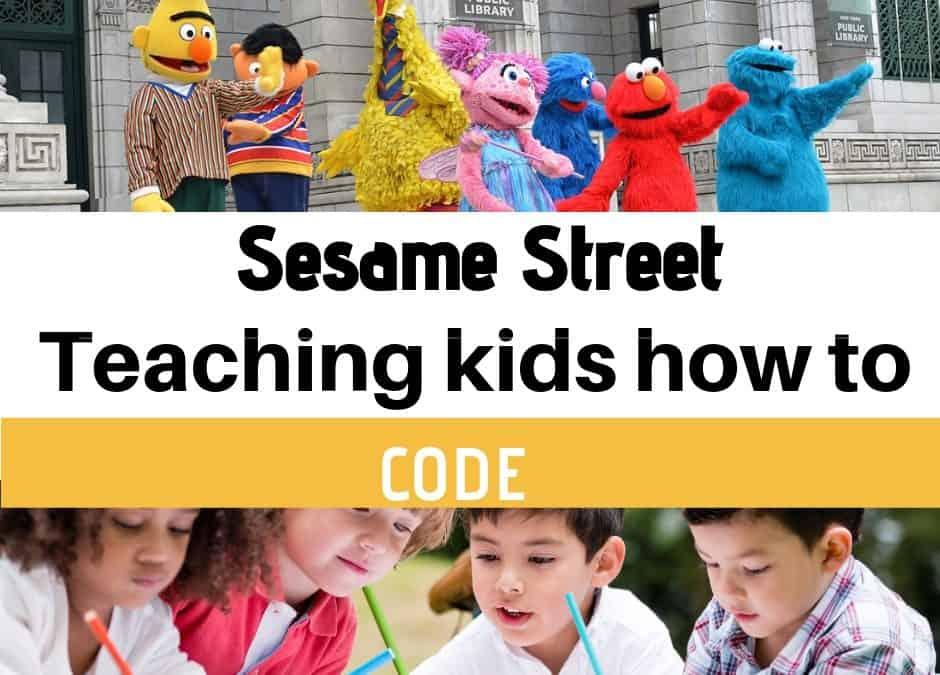 Sesame Street teaching kids how to code via Apple+ TV - Kids n Clicks