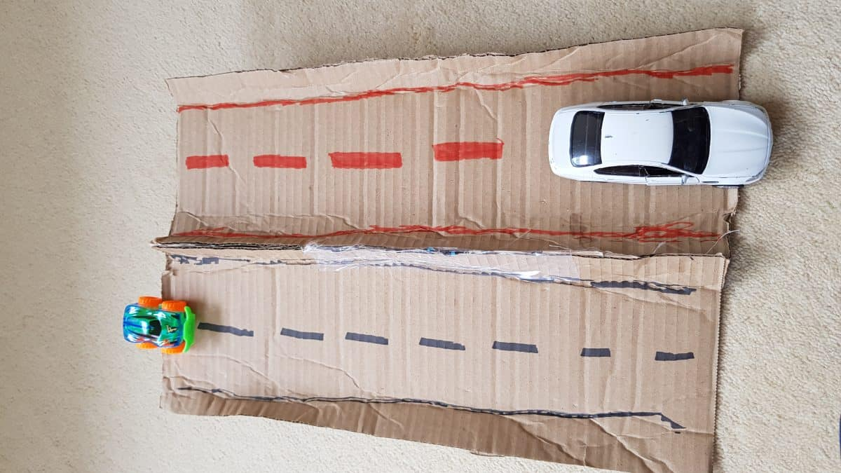 DIY Toys : Home made car race track - Kids n Clicks