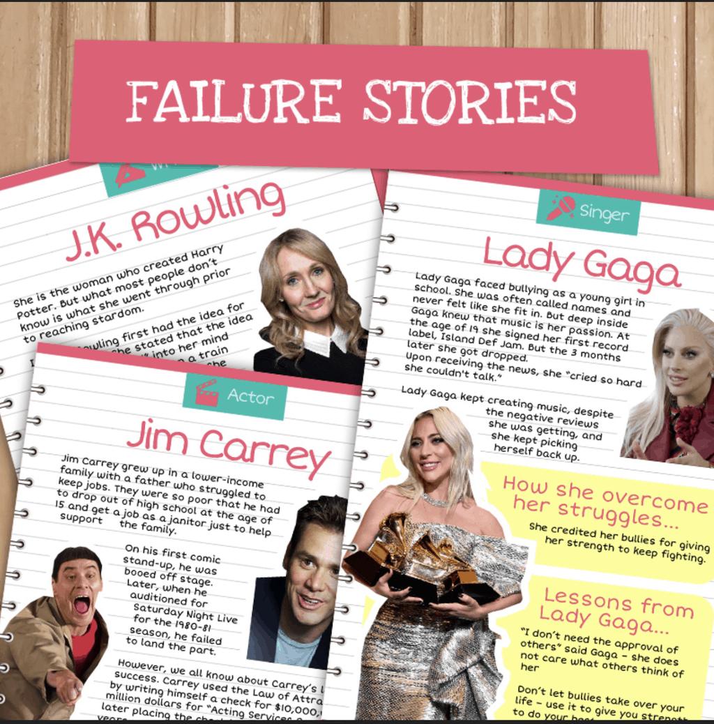 Famous Failure Stories