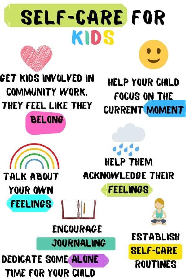 Self-Care For Kids - Kids n Clicks