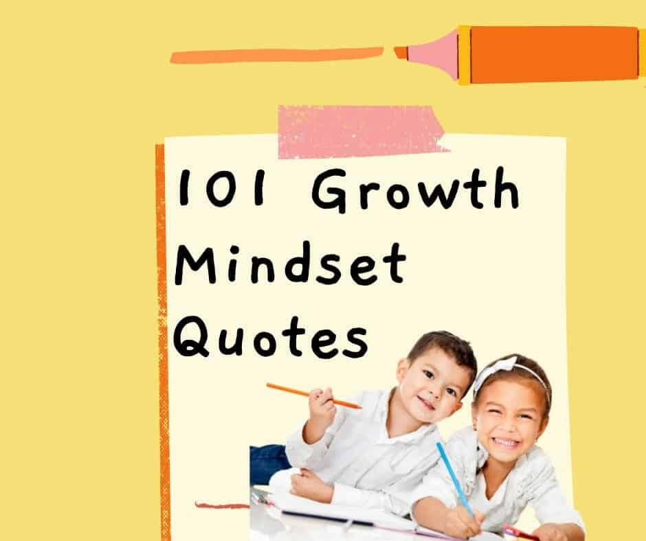 101 growth mindset quotes