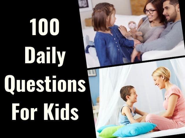 Questions for kids