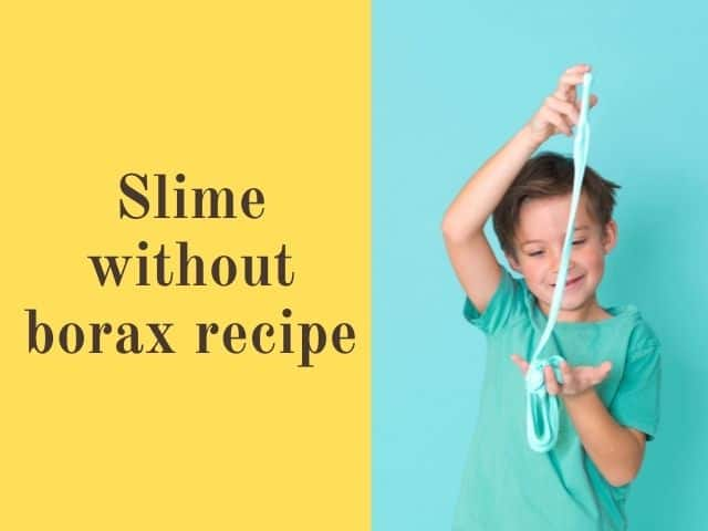 slime without borax