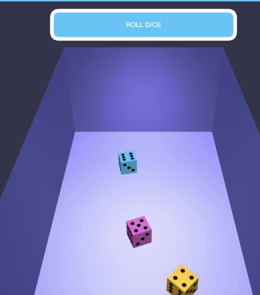 online dice roller