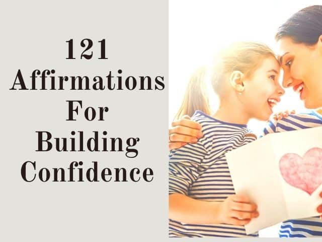 positive affirmations for self-confidence