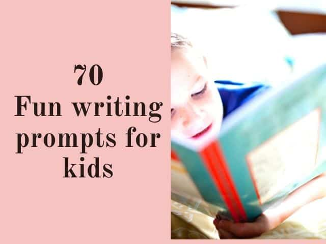 fun writing prompts