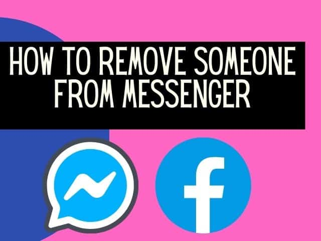 remove someone from messenger