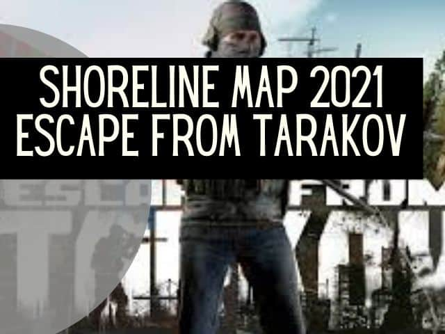 shoreline map