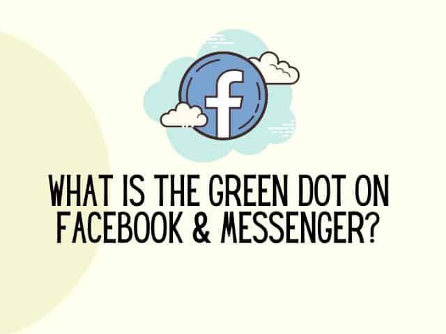 green dot on messenger