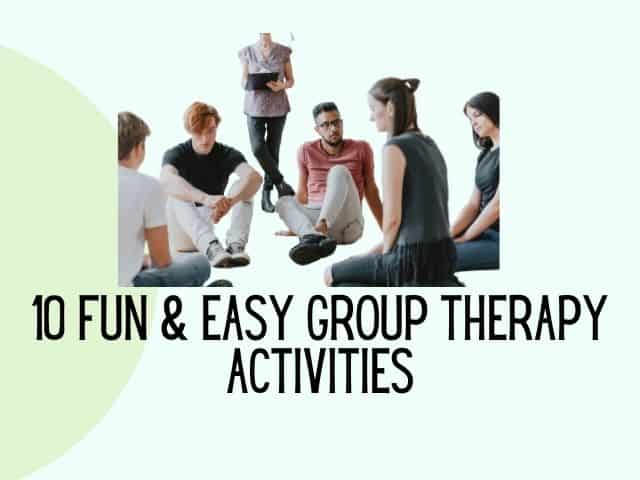 group therapy activities