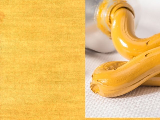 Yellow ochre  to make green