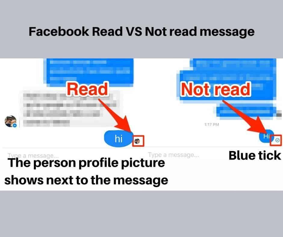 Facebook sent vs delivered