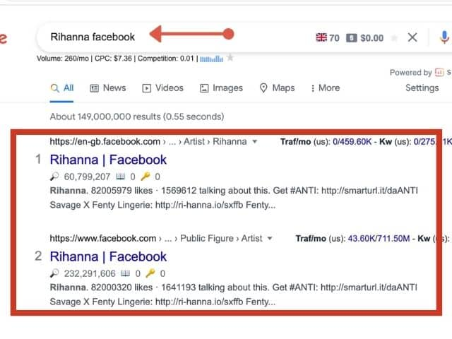 How to tell if someone deleted their Facebook account?