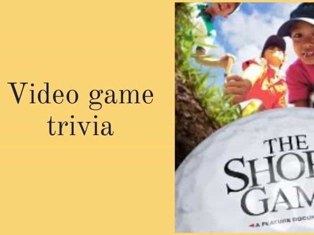 video game trivia questions