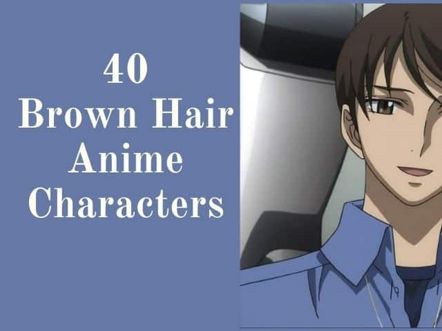 brown anime characters