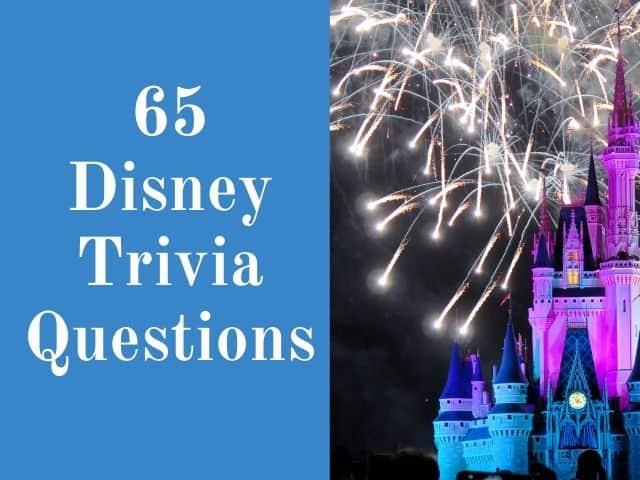 Disney trivia questions