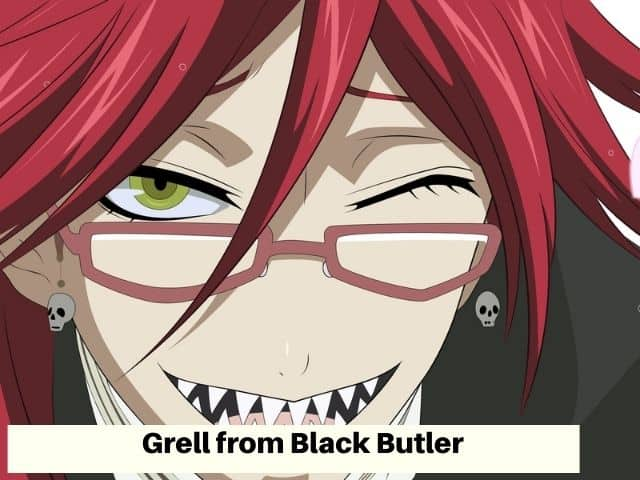 Red hair anime character