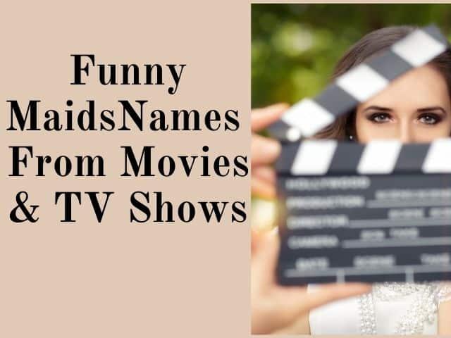 maids names