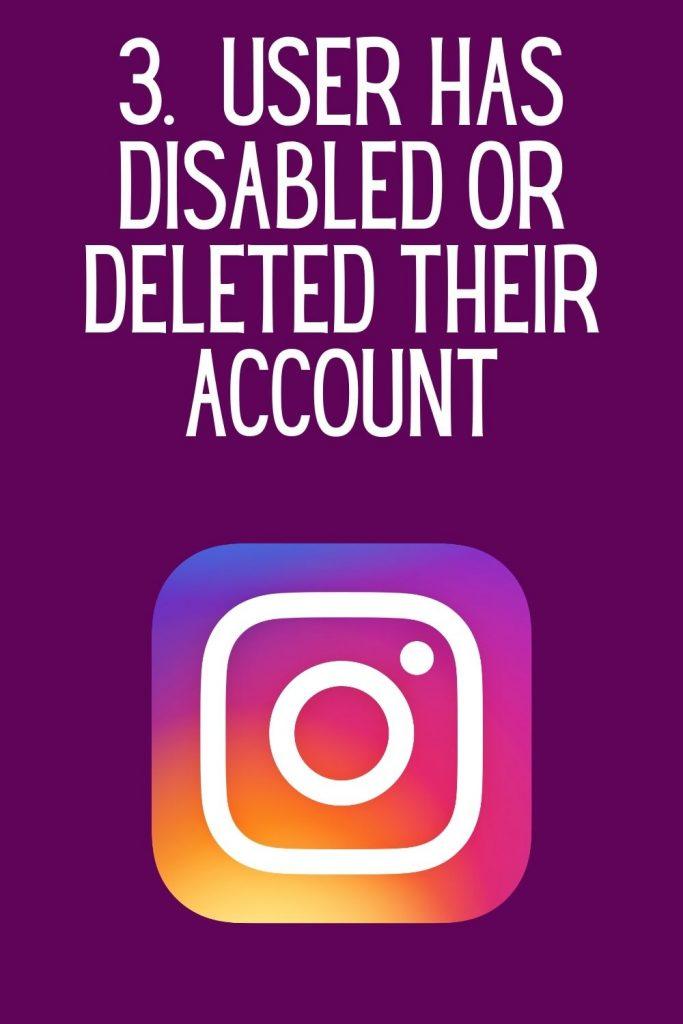 """""""Instagram user not found"""""""