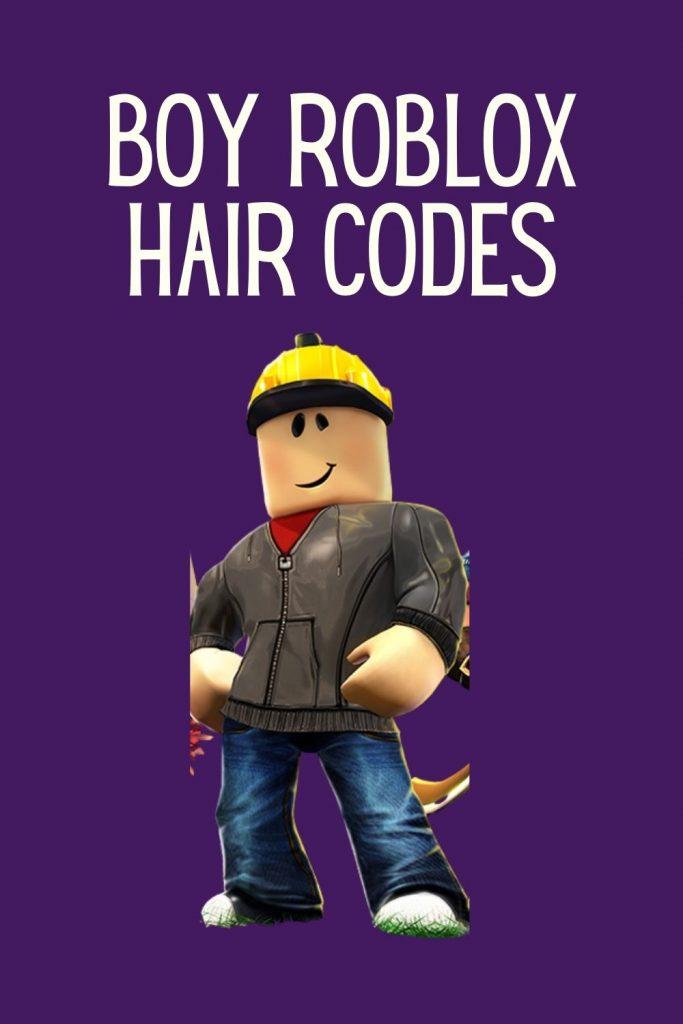 Roblox hair code boys