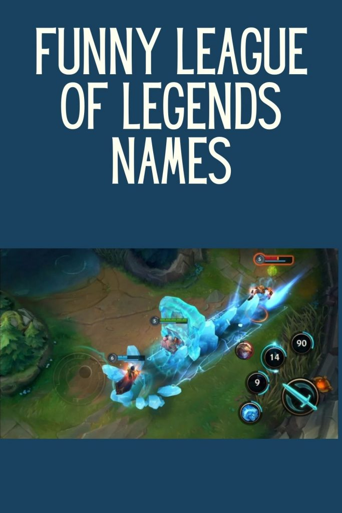 League of legends names