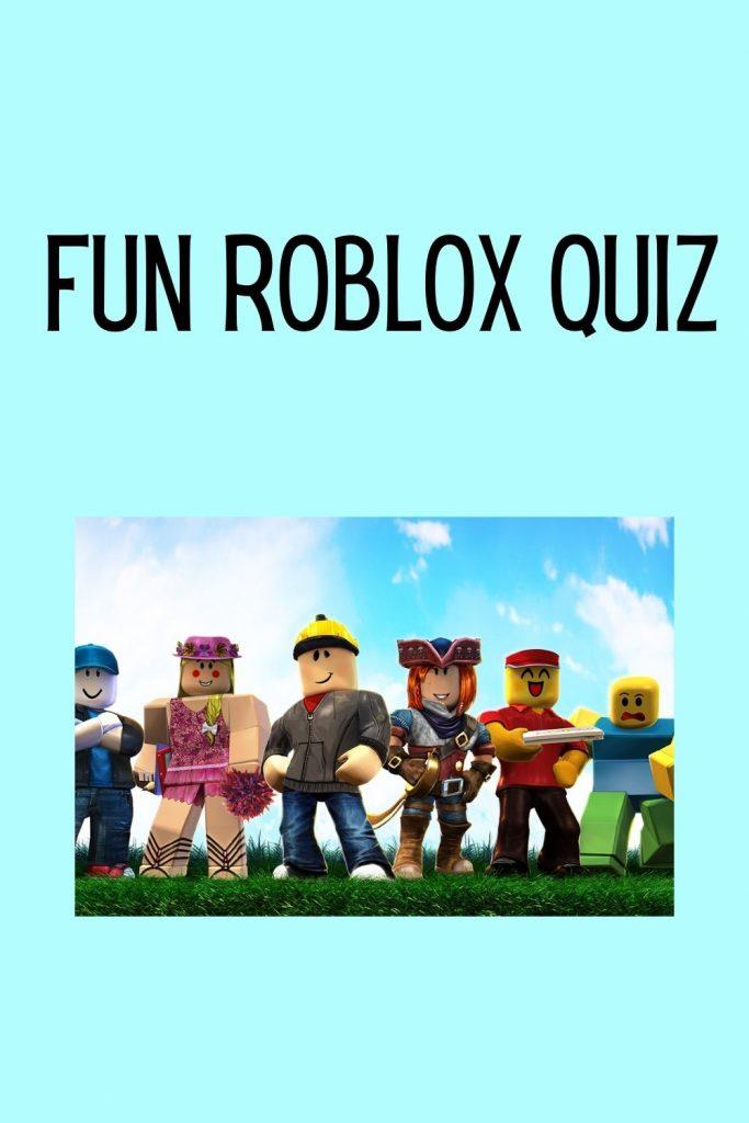 Fun Roblox Quiz